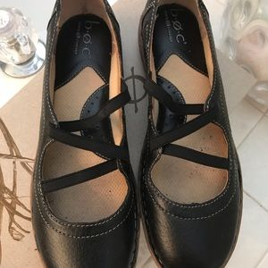 B.O.C black shoes size 9